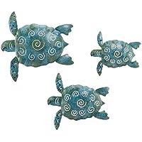SEA Turtle Beach Ocean Summer Metal W…