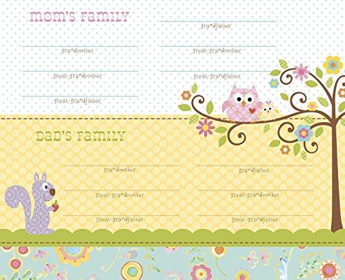 C.R. Gibson First Year Calendar, Happi Baby Girl