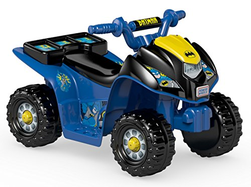 Best Review Of Fisher-Price Power Wheels Batman Lil' Quad