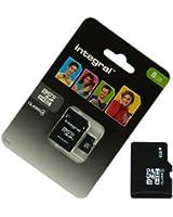 Acce2S - CARTE MEMOIRE 8 GO pour SAMSUNG S5839i Galaxy Ace MICRO SD HC + ADAPT SD integral