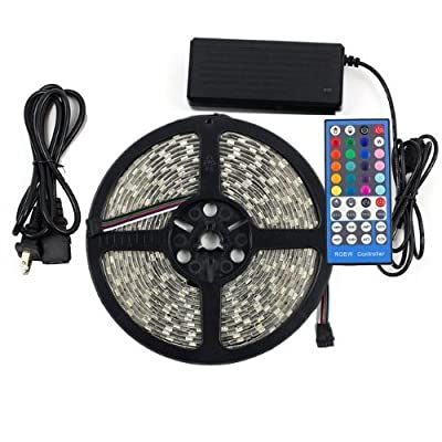 eTopxizu Waterproof 5050 LED Strip Light Set from eTopxizu