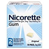 Nicorette Stop Smoking 2mg Gum, Original - 1 x 110 Ea