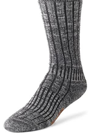 Wigwam Men's Merino/Silk Hiker Socks, Charcoal, Small