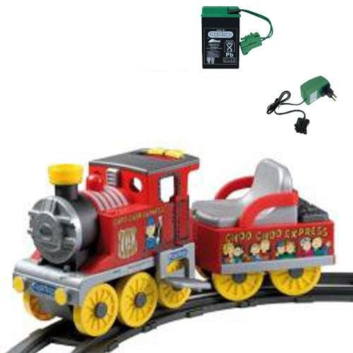 Peg Perego - Choo Choo Express Ride On Train With Additional Battery And Charger front-940875