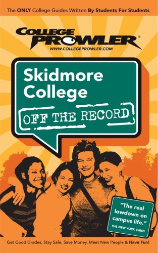 Skidmore College: Off the Record - College Prowler