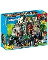 Playmobil - 4842 - Jeu de construction - Temple du trésor avec gardiens