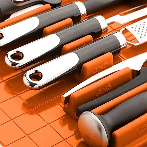 Drawer Decor - Range couverts organiseur de tiroirs Orange