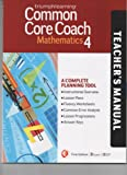 Common Core Coach Mathematics 4 Teacher's Manual