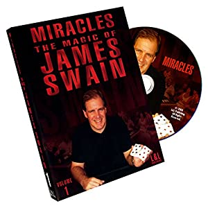 Murphy's Magic Miracles-The Magic of James Swain Volume 1 Magic Trick Products-DVD