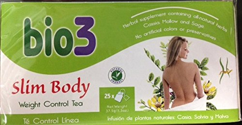 Slim Body Bio3 25 Tea Bags