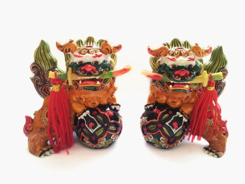 Feng Shui Chinese Foo Dogs To Ward Off Evil Energy