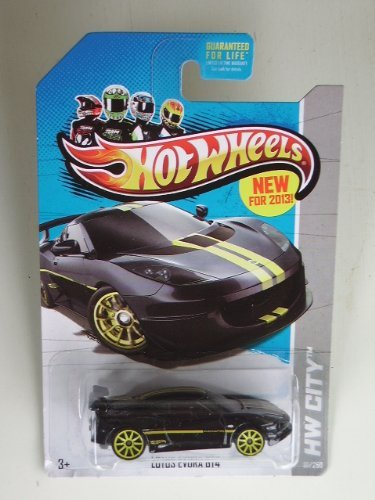 Lotus Evora GT4 (Black) Diecast Car (Hot Wheels)(2012)