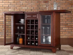 Price Comparisons Newport Sliding Top Bar Cabinet Mahogany 36 Amp Quot H X 64 Amp Quot W X 20 Amp Quot D Whoa Oh Oh Oh Oh Shopping