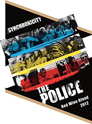 2012 The Police Synchronicity Red Wine Blend Mendocino County 750 Ml