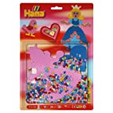 Hama Children's Toy Midi Princess Mix Blister Pack, Multi Color (Large)