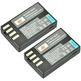DSTE® 2x D-Li109 Replacement Li-ion Battery for Pentax K-R K-30 K-50 K-500 KR K30 K50 K500 K-S2 Camera