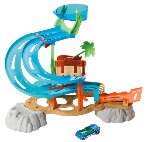 Hot Wheels Race Rally Parque Acuático Playset
