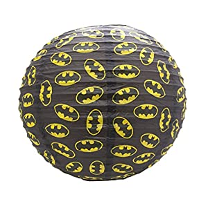 Official DC Comics Batman Paper Ceiling Light Shade Round Lampshade from TruffleShuffle