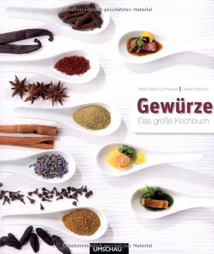 Suchen : Gewürze: Das große Kochbuch