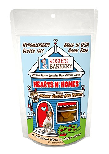 Hearts N' Homes Pet Snacks Treat, Peanut Butter Flavor