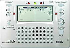 Korg Tm 40 : korg tm 40 large display digital tuner and metronome musical instruments ~ Russianpoet.info Haus und Dekorationen