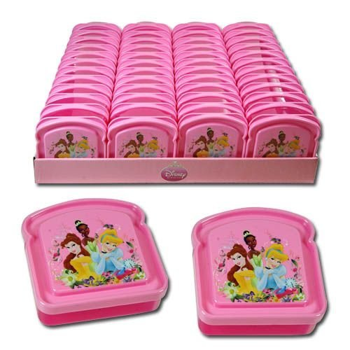 Disney Princess Bread Shaped Sandwich Container - 1