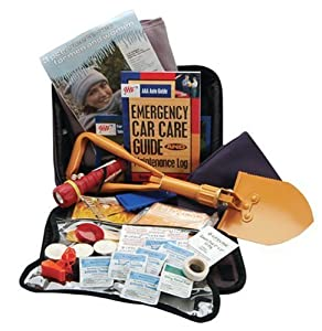 AAA 65-Piece Winter Severe Weather Travel Kit by AAA