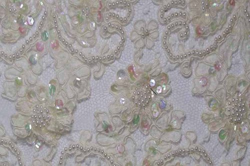 Alencon Beaded Lace #10