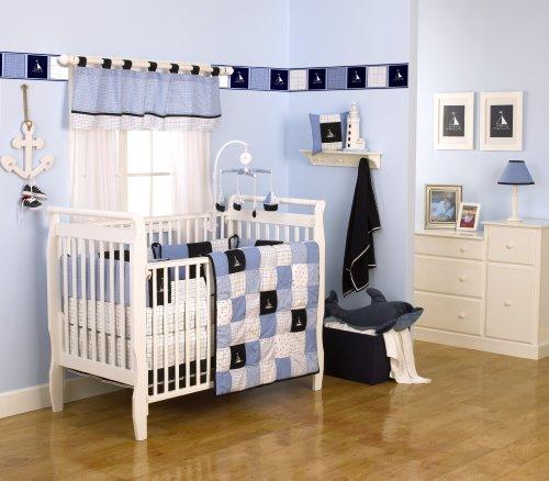 Nautica Kids William 4 Piece Crib Set