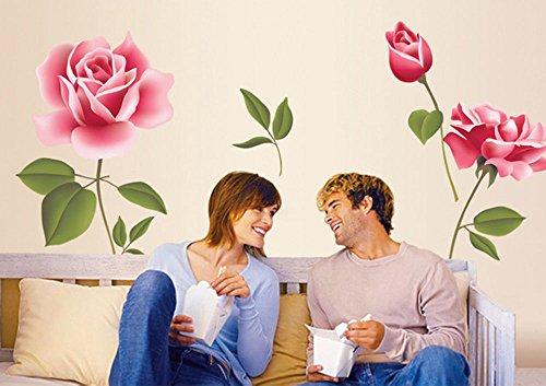 NEW Flower Removable Art Mural Vinyl Wall Sticker DIY Decal Room Home Decor (College Girl Halloween Pics)