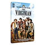 The Virginian - Complete First Season on 10 DVDs - Limited Edition Embossed Collector's Tin! Plus Bonus Interview DVD! ~ James Drury