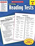 img - for Scholastic Success With Reading Tests, Grade 4 (Scholastic Success with Workbooks: Tests Reading) by Scholastic [2010] book / textbook / text book