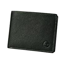 Timberland Earthkeepers Passcase Wallet Bifold Genuine Hookset Leather Rugged NW