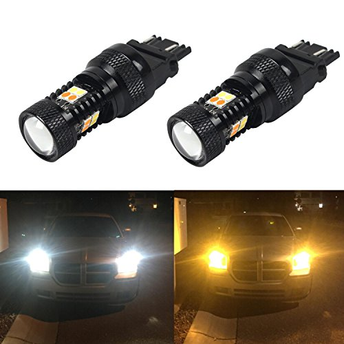 JDM ASTAR Extremely Bright 3030 Chipsets White/Yellow 3157 3155 3457 4157 Switchback LED Bulbs with Projector For Turn Signal Lights(Brightest Switchback bulb on the market) (Toyota Corolla Wagon Jdm compare prices)