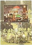 Sellos para coleccionistas - Perros jugando a las cartas y la caza - 2 sellos perfecto estado ofreciendo Equitación - sellos de la naturaleza ideal para recoger - Sellos excelentes - nuevos sin charnela