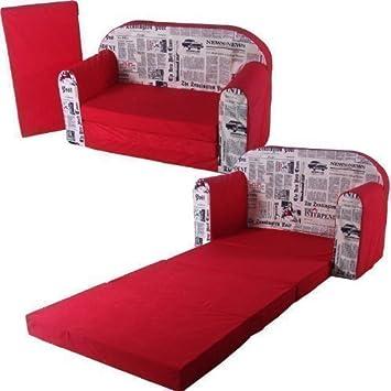 schlafsofa 100x172cm sofa motiv kinder klappmatratze g stebett bettsessel faltmatratze. Black Bedroom Furniture Sets. Home Design Ideas