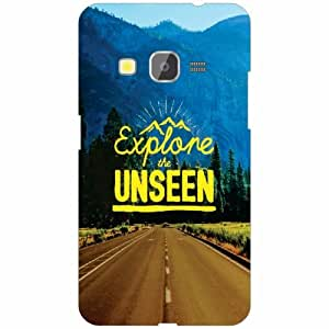 Samsung galaxy J2-2016 Back Cover - Unseen Designer Cases