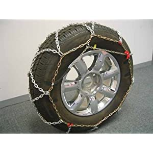 BikeBatts KNS060 Diamond Grip 12mm Tire Chains for Passenger Cars, SUV's, and Light Trucks