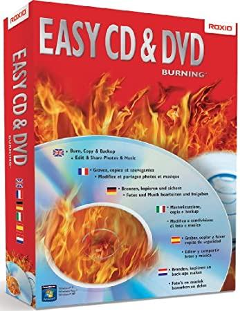 Roxio Easy CD & DVD Burning - Windows 7 Update (PC CD)