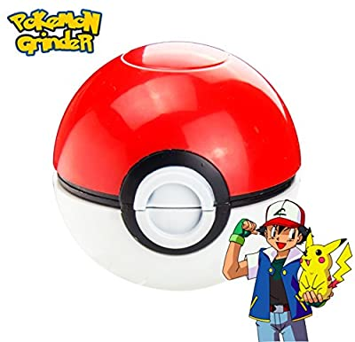 Pokemon Grinder by Ulcanix - #1 Best Spice Herb Grinder for Tobacco and Herb Also for Weed And Marijuana - Ideal Christmas Gift from Ulcanix