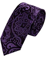 EAE1B16 Best Fashion Multicolored Mens Silk Skinny Necktie for Husband By Epoint
