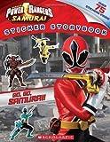 img - for Power Rangers Samurai: Go, Go, Samurai! Sticker Storybook by Scholastic Inc (Jan 1 2012) book / textbook / text book