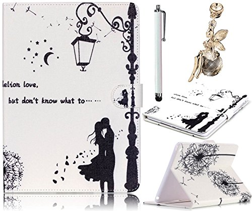 Etui iPad 2 / 3 / 4, Sunroyal® Coque Housse Slim-Fit Flip Portefeuille Tablet Case Cover PU Cuir Motif Lovers de Protection avec Support pour