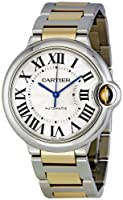 Cartier Men's W6920047 Ballon Bleu Steel and 18kt Gold Watch by Cartier