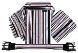 北極しろくま堂 昔ながらのおんぶひも 背当て頭あてつき コム/モノブラック(総柄) 本体:綿100% ON-50-X-3140 ランキングお取り寄せ