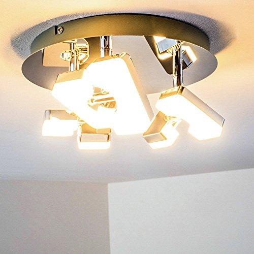 LED Plafoniera Lampadario Rotondo Stile Design 3 x 6 Watt