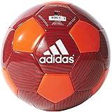 Adidas Performance MUFC Soccer Ball, 5, Solar Red/Scarlet/Black/White, 5/Solar Red/Scarlet/Black/White