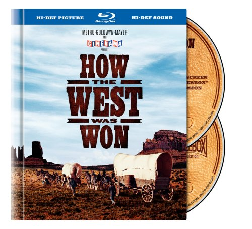 Cover art for  How the West Was Won (Blu-ray Book Packaging)