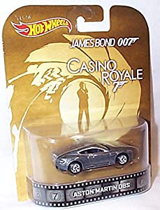 hotwheels james bond 007 casino royale aston martin DBS car 1.64 scale model