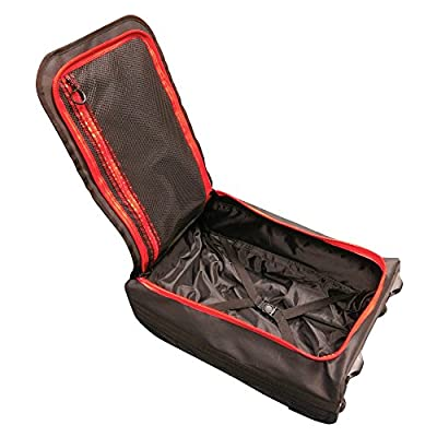 Aquabourne Danube Water Resistant Hand Luggage Trolley Suitcase IATA 55x35x20cm perfect for Ryanair and easyJet flights.